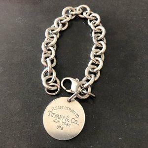 Tiffany chain bracelet